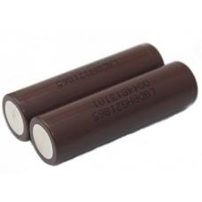Литиевый аккмулятор LG INR18650HG2 3000 мАч внешний вид корпуса и контакта