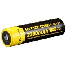 Общий внешний вид аккумулятора Nitecore NL-183 2300mAh