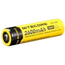 Аккумулятор Nitecore NL-186 2600mAh внешний вид, главный план