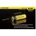 Описание физических размеров аккумулятора Nitecore NL-186 2600mAh