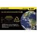 Описание количества циклов заряд-разряд у аккумулятора Nitecore NL-186 2600mAh