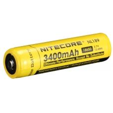 Общий вид аккумулятора Nitecore NL-189 3400mAh
