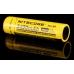Внешний вид литиевого аккумулятора Nitecore NL-189 3400mAh
