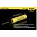 Описание размеров аккумуляторов Nitecore NL-189 3400mAh