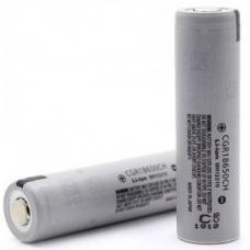 Внешний вид аккумулятора с повышенной емкостью Panasonic CGR18650CH 2250мАч