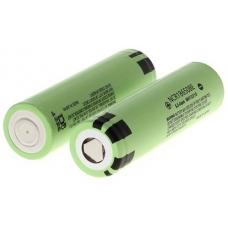 Внешний вид аккумулятора с повышенной емкостью Panasonic NCR18650BE 3200мАч