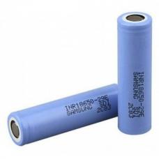 Аккумуляторы высокой емкости Samsung INR18650-29E 2900mah на белом фоне