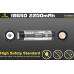 Изображение контактов и предупреждение о безопасном использовании аккумулятора Xtar 18650