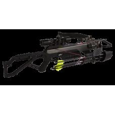 Компактный арбалет Excalibur Micro 335 Nightmare для любого вида охот с установленной оптикой