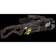 Компактный охотничий арбалет Excalibur Micro 335 для охоты с черной ложей и стрелами в комплекте