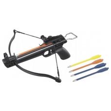 Легкий пистолетный арбалет Man Kung MK-50A1 для развлекательной стрельбы