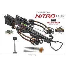 Блочный арбалет TEN POINT Carbon Nitro RDX с комплектными аксессуарами