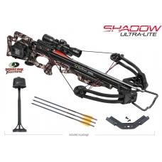 Блочный арбалет TEN POINT Shadow Ultra-Lite с стрелами и кивером