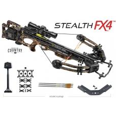 Блочный арбалет TEN POINT Stealth FX4 с комплектными аксессуарами