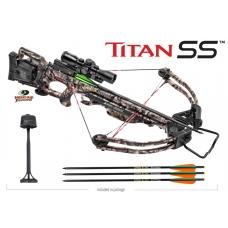 Блочный арбалет TEN POINT Titan SS с кивером и стрелами