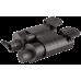 Профессиональный бинокль Pulsar Expert VM 8x40 с защитными крышками объектива и наглазником окуляра