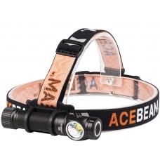 Самый мощный наголовный фонарь Acebeam H15