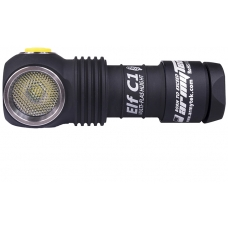 Налобный фонарь Armytek Elf C1 XP-L Micro-USB + 18350 Li-Ion с зарядкой и аккумулятором