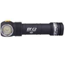 Налобный фонарь Armytek Elf C2 XP-L Micro-USB + 18650 Li-Ion с зарядкой и аккумулятором