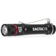 Металлический фонарь-брелок Eagtac D25AAA черного цвета