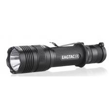 Компактный тактический фонарь Eagtac T200C2 в черном алюминиевом корпусе