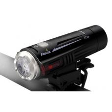 Компактный велосипедный фонарь Fenix BC21R с универсальным крепежом к рулю