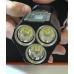 Три независимых светодиода поискового фонаря Fenix TK72R
