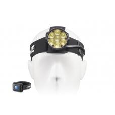 Многодиодный налобный фонарь с дистанционным управлением и креплением на голову