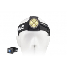Налобный аккумуляторный фонарь на четырех светодиодах Lupine Wilma RX и пультом питания