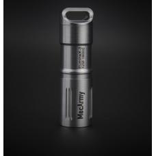 Наключный фонарик в стальном корпусе