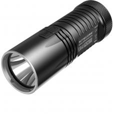 Карманный фонарь в черном металлическом корпусе Nitecore EA41