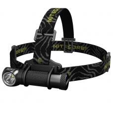 Мощный налобный фонарь Nitecore HC30