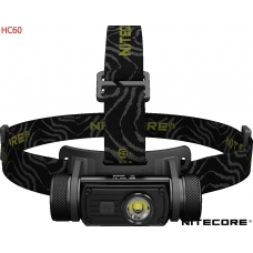 Современный наголовный фонарь Nitecore HC60