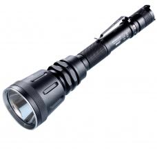 Дальнобойный тактический фонарь Nitecore MH40GT в металлическом корпусе с клипсой для ношения