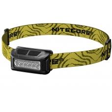 Наголовный фонарь с эластичным налобным креплением Nitecore NU10