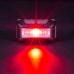 Красный яркий свет нового налобника на аккумуляторах Nitecore NU10