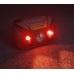 Красный яркий свет нового налобника на аккумуляторах Nitecore NU30