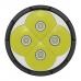 Светодиоды используемые в фонаре Nitecore TM16 и прозрачное защитное стекло