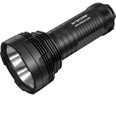 Поисковый фонарь в черном алюминиевом корпусе с анодированием