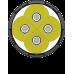 Светодиоды используемые в фонаре Nitecore TM16GT и прозрачное защитное стекло