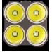 Светодиоды используемые в фонаре Nitecore TM26 и прозрачное защитное стекло
