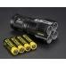 Аккумуляторы применяемые в мощном поисковом фонаре Nitecore TM28
