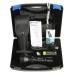 Комплект поставки состоит из фонаря с аксессуарами в пластиковом фирменном кейсе