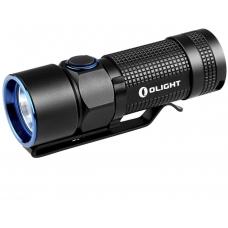 Черный металлический фонарь с возможностью перезарядки