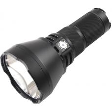 Поисковый фонарь Thrunite TN42 в прочном корпусе из алюминия с черным анодированием и стальной защитной кромкой