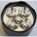 Светодиоды и отражатель фонаря UV-Tech Light incl. Модель 18WX5 365 nm