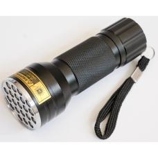 Компактный ультрафиолетовый фонарь с 21 диодом