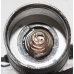 Пружинный контакт в торцевой крышке ультрафиолетового фонаря UV-Tech Light incl. Модель 3WX1 365 nm