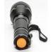 Кнопка включения фонаря защищена резиновой накладкой