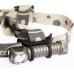 Эластичная лента и держателем из силикона у фонаря Zebralight H600 Mk II